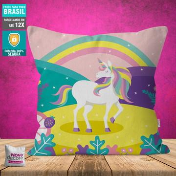 Almofada Unicornio | Tamanho 30x30 | AL00016UNI