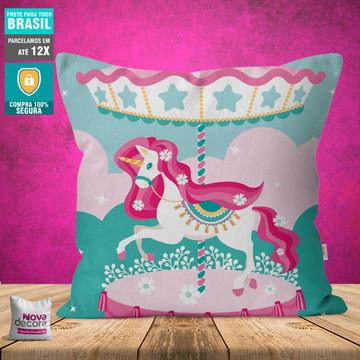 Almofada Unicornio | Tamanho 30x30 | AL00018UNI