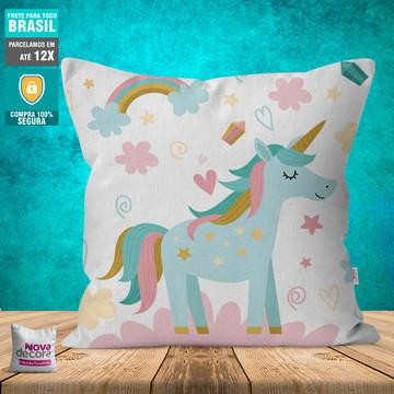 Almofada Unicornio | Tamanho 30x30 | AL00040UNI