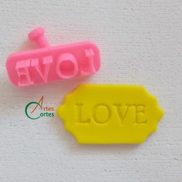 Cód.: 372 - Carimbo: Love