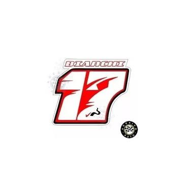 Adesivo 17 Jules Bianchi F1 Formula 1 A Pronta Entrega