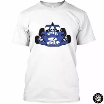 Camiseta Tyrrell Retrô Formula 1 F1 + Adesivo Exclusivo