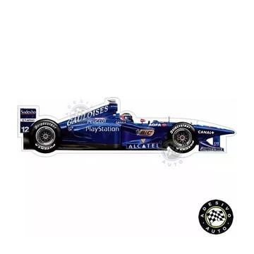 Adesivo Jarno Trulli Prost AP01 Gauloises Formula 1 Carros
