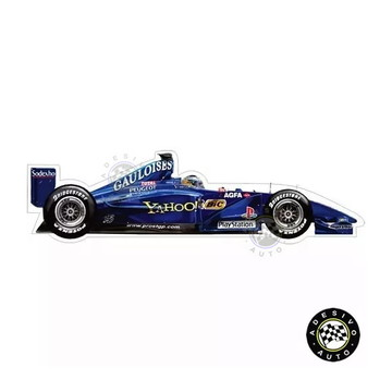 Adesivo Nick Heidfeld Prost Gauloises AP03 Formula 1 Carros