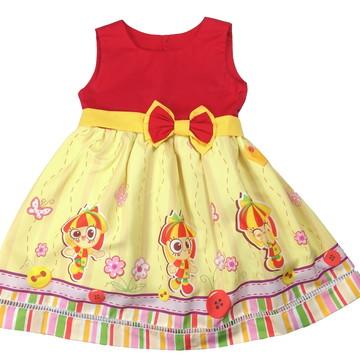 Vestido Infantil Temático Emília