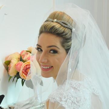 Tiara de Noiva Pérolas
