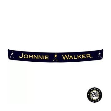 Adesivo Johnnie Walker Para Viseira De Capacete