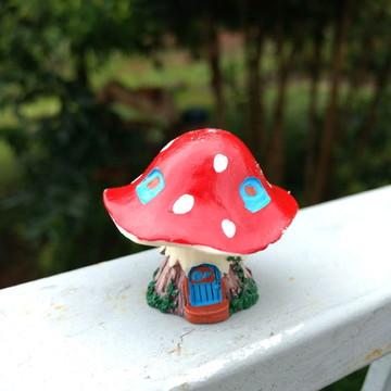 Casinha cogumelo