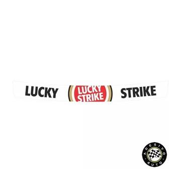 Adesivo Lucky Strike Para Viseira De Capacete Pronta Entrega