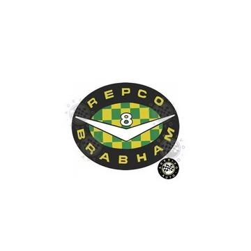 Adesivo Repco Brabham F1 Formula 1 Classic A Pronta Entrega