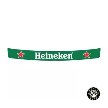 Adesivo Heineken Para Viseira De Capacete