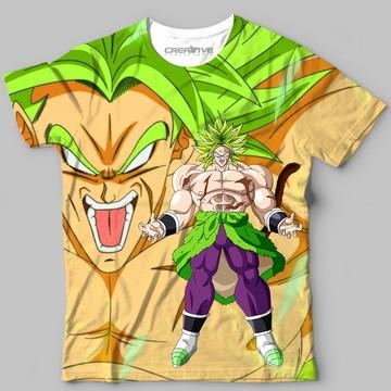 bf3dfab6f1 Camisa Camiseta Blusa Anime Dragon Ball Broly Dbs