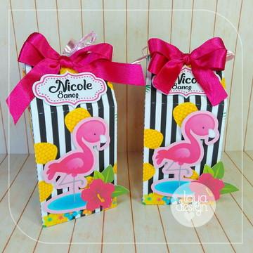 Caixa Milk Flamingos