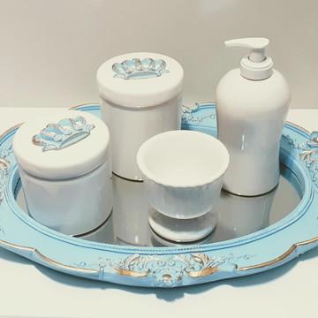 Kit higiene bandeja resina