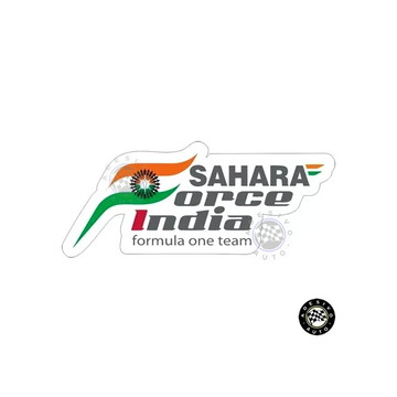 Adesivo Sahara Force India Formula 1 Team A Pronta Entrega