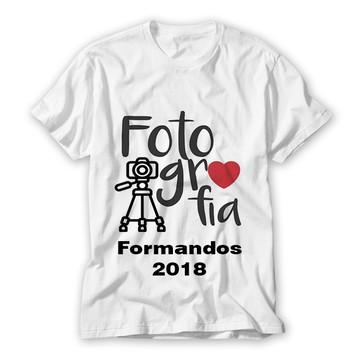 Camiseta fotografia formatura