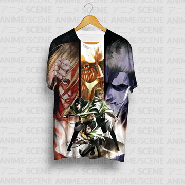 Camiseta Titans - Shingeki no Kyojin (Attack On Titan)