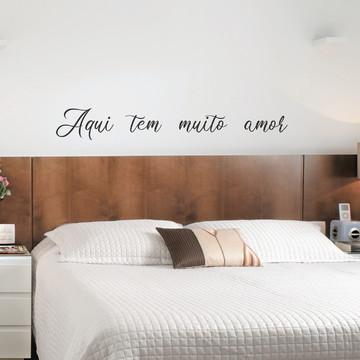Adesivo decorativo frase romântica