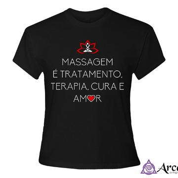 Baby Look Massagem - Preta