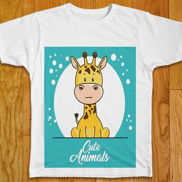 Camiseta Infantil Cute