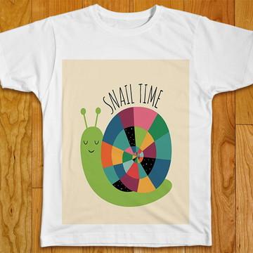 Camiseta Infantil Caracol