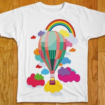 Camiseta Infantil Balão