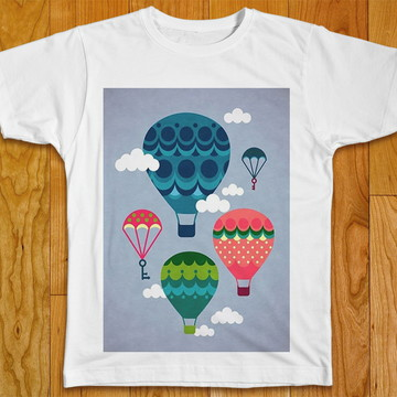 Camiseta Infantil Balões