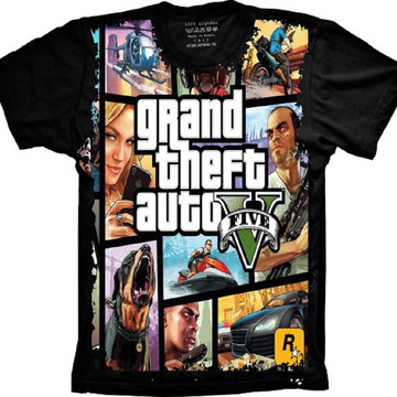 Camiseta GTA 5