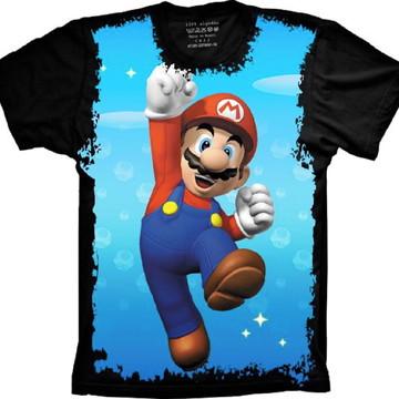 Camiseta Super Mario Bros