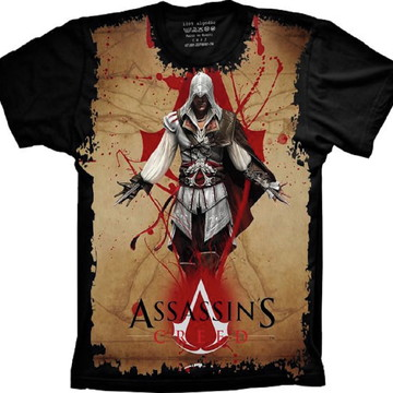 Camiseta Assassin's Creed Jogo