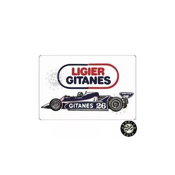 Adesivo Ligier Gitanes Js11 Jacques Laffite F1 Formula 1