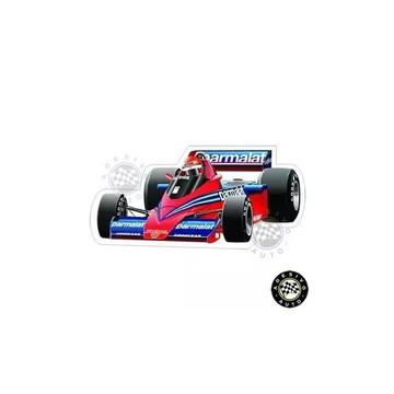 Adesivo Brabham Bt46 Niki Lauda 1978 F1 Formula 1 Carros