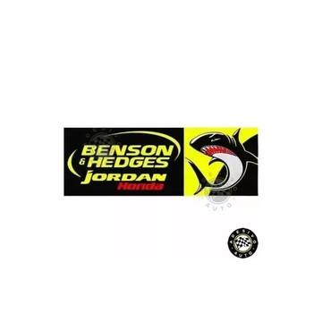 Adesivo Benson & Hedges Jordan Honda F1 Formula 1