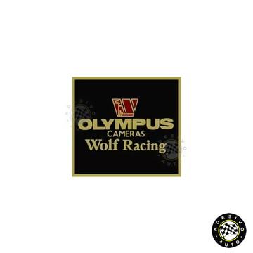 Adesivo Olympus Cameras Wolf Racing F1 Formula 1