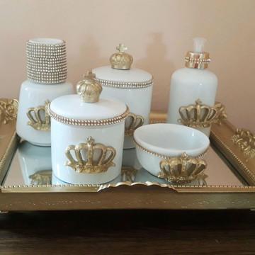 Kit higiene porcelana provençal