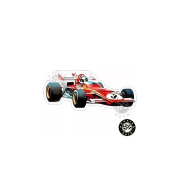 Adesivo Ferrari 312b Jacky Ickx F1 Formula 1