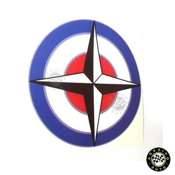 Adesivo Emblema BRM British Racing Motors F1 Formula 1