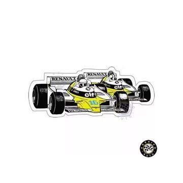 Adesivo Renault RE20 Elf F1 Formula 1 Carros