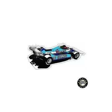 Adesivo Ligier Js17 Gitanes Jacques Laffite F1 Formula 1