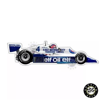 Adesivo Tyrrell 008 Patrick Depailler F1 Formula 1