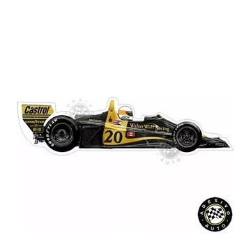 Adesivo Wolf Wr1 Jody Scheckter F1 Formula 1 Carros
