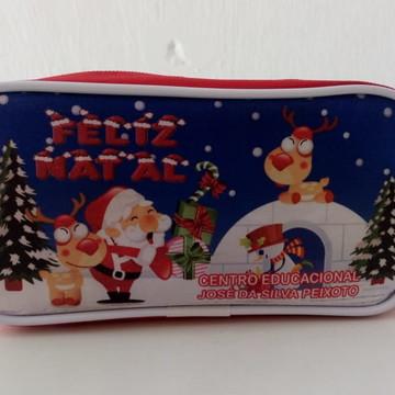 Estojo Papai Noel
