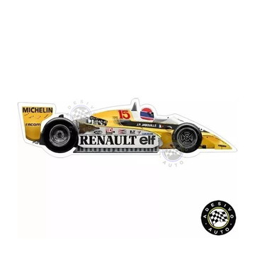 Adesivo Renault RS10 Jabouille 1979 F1 Formula 1