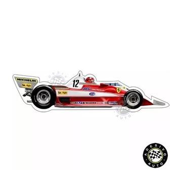 Adesivo Ferrari 312T3 Gilles Villeneuve F1 Formula 1 Carros