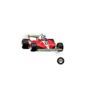 Adesivo Ferrari 312T3 Carlos Reutemann F1 Formula 1 Carros