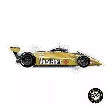 Adesivo Arrows A3 Warsteiner Riccardo Patrese F1 Formula 1