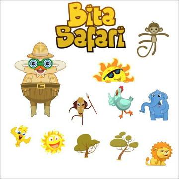 Vetores Bita Safari CDR, EPS, Ai e PNG (47 Vetores CDR)