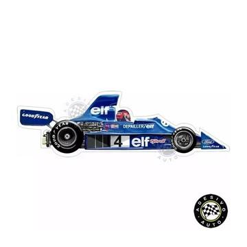Adesivo Tyrrell 007 Patrick Depailler Elf F1 Formula 1