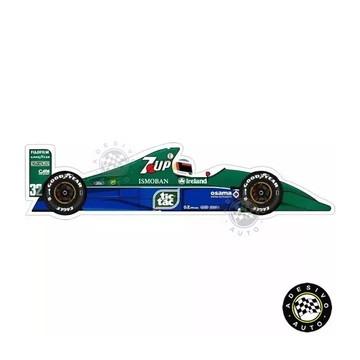 Adesivo Jordan 191 7up Schumacher F1 Formula 1