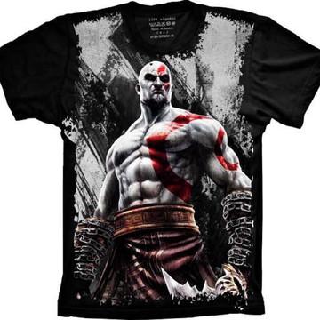 Camiseta God of War Cratos